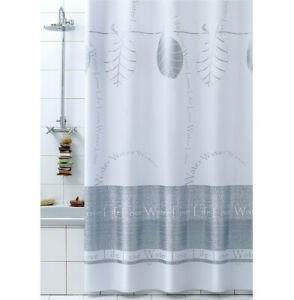 Shower Curtain Bathroom Modern Love Mold PVC Anelli Items 100% Made IN Italy