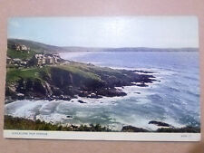 Real Colour Photo Postcard- WOOLACOMBE FROM MORTHOE,Devon, No. KMWIII+ Stamp