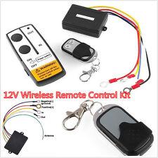 12V Wireless Remote Control Kit For Jeep ATV Winch Cordless Truck Car 12V Auto