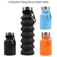 Portable Silicone Folding CupRetractable Telescopic Collapsible Travel Camping