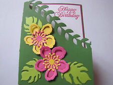 Botanical Blooms Happy Birthday Friendship Congrates Card Kit w/Some Stampin Up