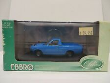 Ebbro Nissan Sunny Truck 1:43 Scale in Blue Limited Edition