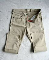 Mens Wrangler Authentics Chinos Stretch Beige Straight Leg Trousers Size W31 L30