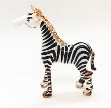 Zebra Glass Blow Art Hand made gift Animal Decor Souvenir Gorgeous Stylish Cute