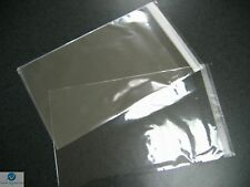 100 Resealable Plastic Wrap Bags Standard DVD Case 14mm Clear Strong NEW HQ AAA