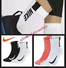 Nike Multiplier Cushioned Dri-Fit Ankle Unisex Running Training Gym Socks
