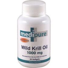 MediPure Wild Krill Oil 1000mg 60 capsules