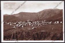 COMO CAGLIO 15 Cartolina FOTOGRAFICA viaggiata 1941