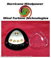 Q Power Dist Block (1) 0G In (4) 4G Out  DC- Wind Turbine Generator Solar Panel