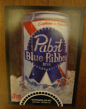 PABST Blue Ribbon Beer Can on Canvas Art Gallery PBR 5 Postcard Set 5x7
