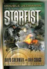 Starfist: Double Jeopardy by Sherman, Del Rey military sci-fi hardcover in Dj
