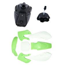 Green Plastics Fender Fuel Gas Tank KLX110 KX65 110/125/140/150cc Dirt Pit Bike