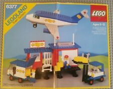 LEGO 6377 Cargo Center with Airplane from 1985