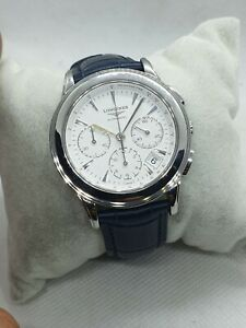 LONGINES FLAGSHIP STEEL AUTOMATIC Chronograph CaL. L650.2, excellent condition,