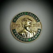 Michael Collins Badge Irish Republican Independence War 1921 Free State Ireland