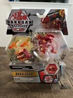Bakugan Armored Alliance DRAGONOID Ultra + Magma Blaster BAKU-GEAR New Sealed