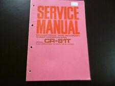 Original Service Manual Schaltplan Akai CR-81T