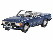 NOREV 1985 Mercedes 300SL (R107) Cabriolet Blue Rare Dealer Edition!