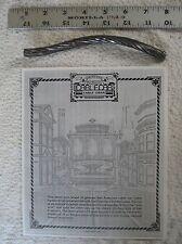 "San Francisco Cable Car Cable - Authentic 7"" Vintage Segment with Documentation"