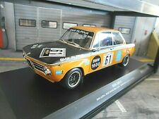 BMW Alpina 1600 1602 2002 #61 Herzog Lauda 1970 6h Nürburgring Minichamps 1:18