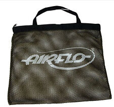 "Airflo Fly Fishing Mesh Bass Bag Zip Top with Carry Handle 21.5""x19.5"" (55x50cm)"