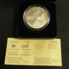 France 100 Francs 1994 Channel PROOF silver 90% (22.2 g)+CoA+Box