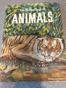 The Wonder Book of Animals, 1960, hardback with dust jacket, Ward Lock and Co