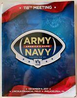 2017 ARMY NAVY BOWL PROGRAM MIDSHIPMEN VS. BLACK KNIGHTS NCAA FOOTBALL CHAMPS