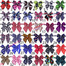 Wholesale Mixed Pattern Polyester Dog Bowties Pet Collar AdjustableDog Bow Ties
