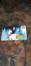 Starbucks * Used Collectible Gift Card w/Sticker No Value * Sbx20-418987