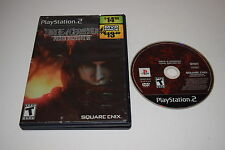 Final Fantasy VII Dirge of Cerberus Playstation 2 PS2 Game Disc w/ Case