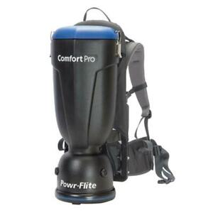 Comfort Pro Backpack Vacuum Cleaner Portable Corded Commercial Residential 10 Qt