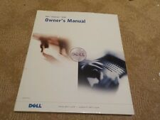 Dell Inspiron 5100 Owners Manual - P/N 2U589 Rev. A00 - (Dec 2002)