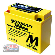 Ducati Monster 1100 High Power AGM Motobatt Battery 2009, 10, 11, 12