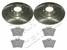 FOR PEUGEOT 407 CITROEN C5 REAR BRAKE DISCS AND PADS 1.6 1.8 2.0 2.2 HDi 290mm