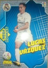Lucas Vázquez Mega Rookies nº 351 Madrid Rookie Megacracks MGK 2016 2017 16/17