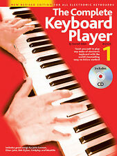 The Complete Keyboard Player Book 1 New Revised Edition for All Electr 014042039