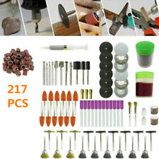 217pcs Electric Grinder Rotary Tool Accessories Kit Hand Mini Rotary Power Drill