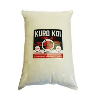 Pond Salt 10kg - PDV, Koi Treatment, Pure Dried Vacuum Salt - Kuro Koi