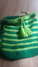 Tasche Handarbeit grün neu