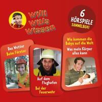 WILLI WILLS WISSEN - (4)SAMMELBOX MIT 6 HÖRSPIELEN-WETTER,FÖRSTER...  3 CD NEU