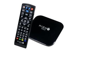 4K Full Ultra HD Smart Android 9.0 IP TV Box 2.4GHz WiFi Streaming Media Player