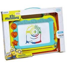 MINIONS SCRIBBLER DRAWING DOODLE KIDS MAGNETIC SKETCHER BOARD ART TOY GIFT NEW