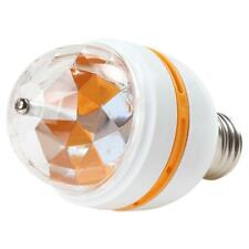Colorful Light E27 3W Auto Rotating RGB LED Bulb Stage Disco Light Party Lamp