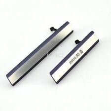 HOT Micro SD + USB SIM Card Port Plug Cover Caps For Sony Xperia Z2 D6503 L50W u