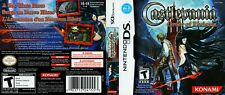 Castlevania: Order of Ecclesia Nintendo DS Reproduction Cover Art No Game