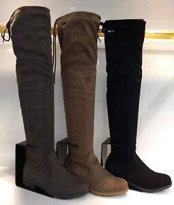 Footwear Sale Women's Knee High Boots Long Flat Comfort Winter Shoes Size