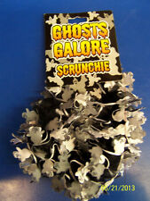 Ghosts Galore Halloween Carnival Party Favor Ponytail Holder Hair Band Scrunchie