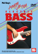 ANYONE CAN PLAY ELECTRIC BASS GUITAR BEGINNER NEW DVD