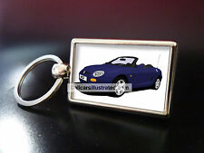 MG MGF METAL KEY RING. CHOOSE YOUR CAR COLOUR